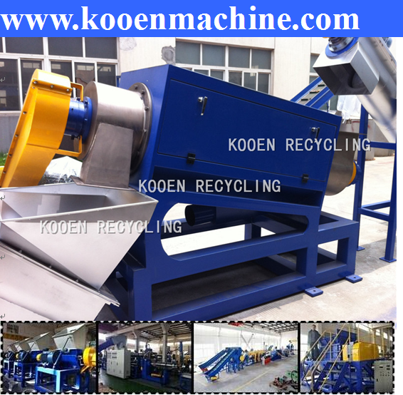 waste LDPE recycling machine and waste plastic recycling pelletizer
