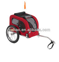 small foldable bicycle pet trailer / dog bike trailer