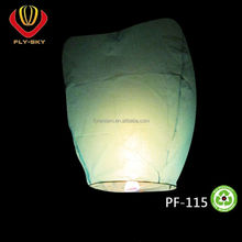 2016 hot selling sky lantern factory direct sale cheap high quality 100% biodegradable fire retardant paper