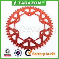 TARAZON brand hot sale Aluminum 46 teeth motorcycle Sprocket for sale