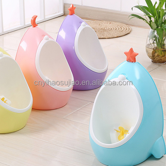 wholesale lovely cute boys pee toilet urinal for kids