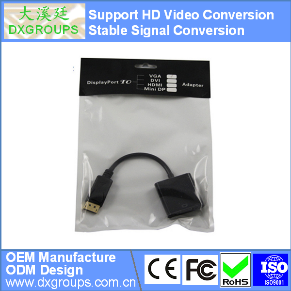 DP DisplayPort to HDMI Female Converter Adapter Cable ( HD Video Conversion ) For Projector TV HDTV