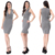 Print Crepe Linen Fabric Office Dresses Workout Clothing