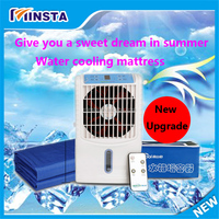 2016 new upgraded mini air conditioner with electric water cooled blanket for sale