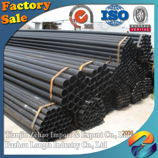 factory directly supply construction 6-12M welded or seamless black steel square pipe steel tube in low price OD6-1000mm