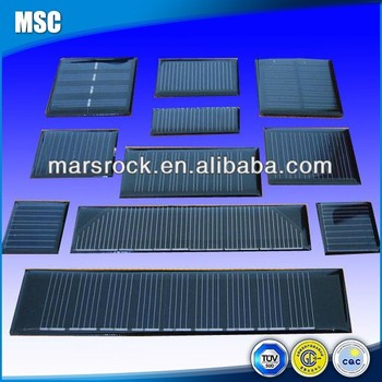 Epoxy Resin Encapsulation Small Mono Solar Panel