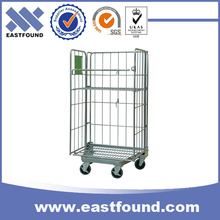 Industrial warehouse metal post pallet & roll pallet & logistic trolley