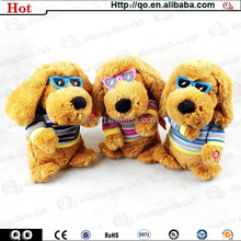 Low price brown lovely fashion charming Snoopy stuffed plush dog toy