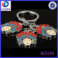 Good Quality Beijing Opera mask of the Chinese classic keychain