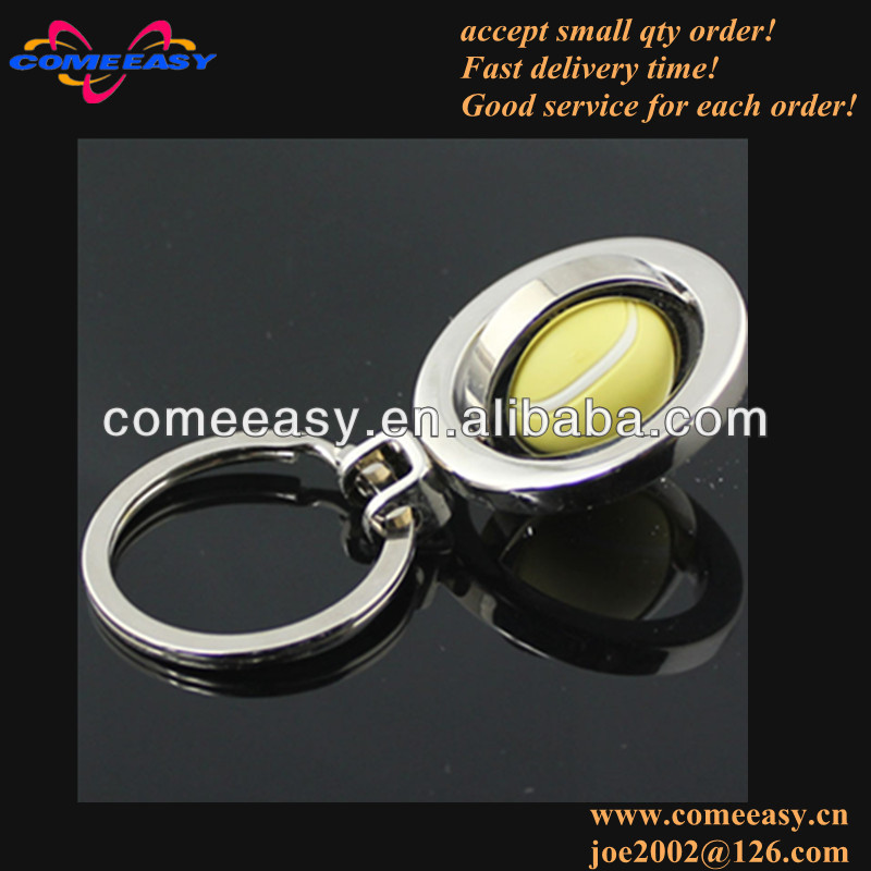 for sport fans oranment gifts mini alloy tennis key holder