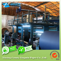 SGS certified blue paperboard blue paper board suitable for the tobacco packaging market