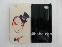Sublimation phone cases,blank cover case,printable case for iphone