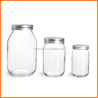 Hot sales 500g glass jars for mason jars
