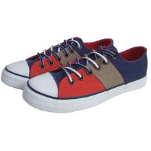 Top quality and cheap price custom printed canvas shoes new canvas shoes