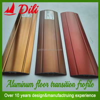 aluminum flexible decorative tile floor trim from China factory