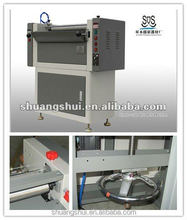"CE latest 20"" one side hot melt glue machine"