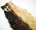Russian Virgin Unprocessed Human Hair Bulk for Braiding,=