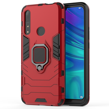Guangzhou Factory Car Magnetic Ring Holder Shockproof Mobile Phone Case For Huawei Y9 prime 2019