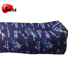 Outdoor Camping used polyester Inflatable Camouflage air sofa