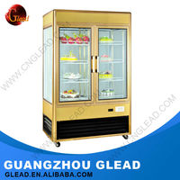 Promotional commercial display cake refrigerator showcase
