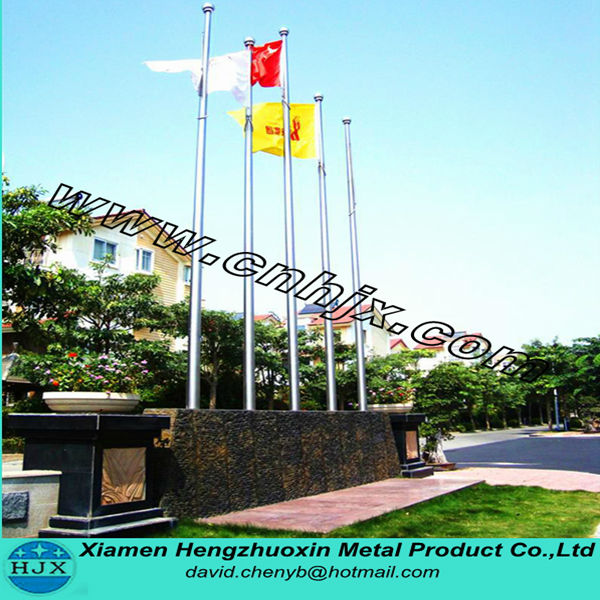 304# Stainless steel Tapered Electric Flagpole