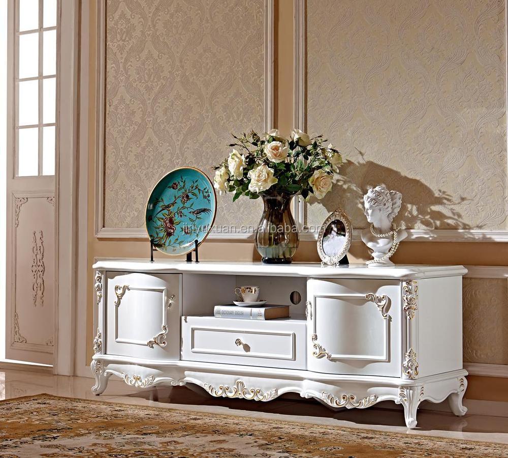 meubles de maison n o classique europ enne classique blanc polonais peinture meuble tv 709. Black Bedroom Furniture Sets. Home Design Ideas