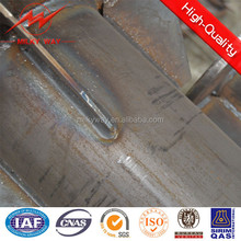Powder painted 6m-12m galvanized steel sign poles for sale