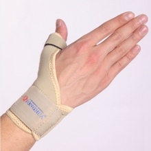 High elastic wrist support glove palm support