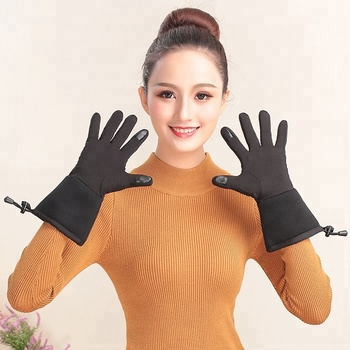rechargeable battery heated gloves liner