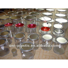 Wholesale clear plastic paint tin cans for food canning