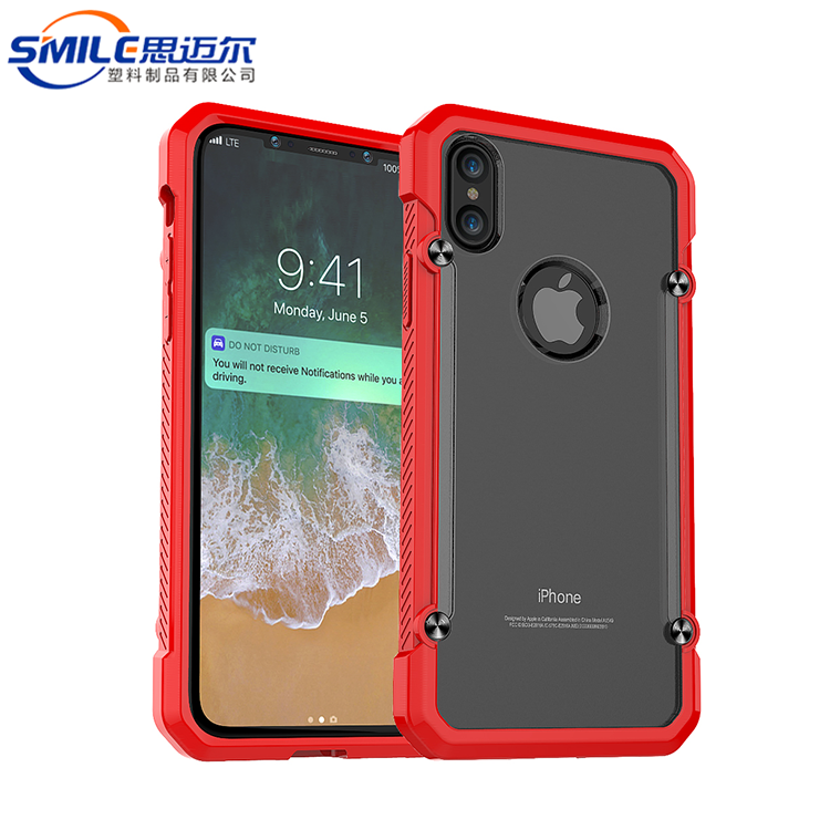 Gorgeous Two in one net case for iphone 8