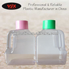 1kg pvc square detergent powder bottle