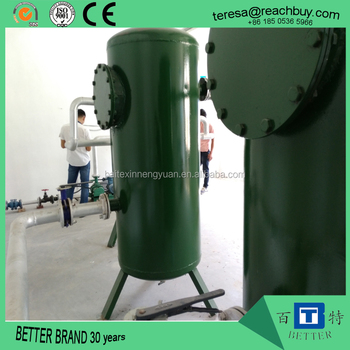 Biogas pre-treatment system for water vapour and H2S remove / biogas dryer