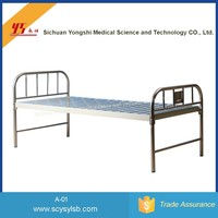 Manufacturer Wholesale Plane Old Hospital Frame Bed Parts Price