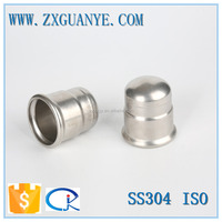 Wenzhou Stainless Steel 304 Press Fit Caps