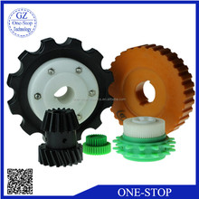 plastic spur gear high strength moulding injection nylon spur gear