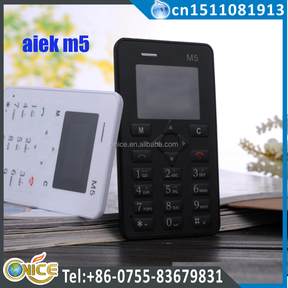 aiek m5 1.0 inch student phone small card size mobile many color choose m5 mobile phone