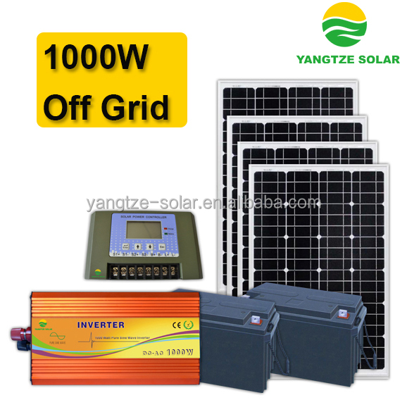 3 days battery backup self generating power system