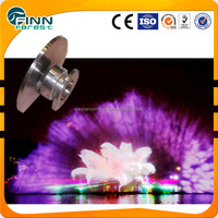 Large River Project Floating Dacing Outdoor Laser Show Water Screen