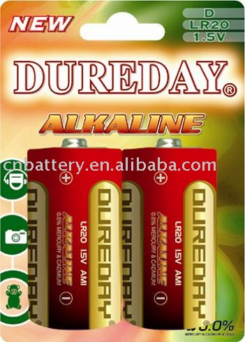 D SUPER HEAVY DUTY ALKALINE BATTERY