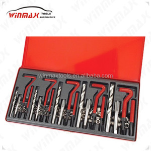 131 pc Thread Repair Tool Kit Auto Engine Block Wire spiral Car Tool