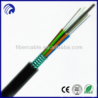 Supply 2-300core Single mode and multimode fiber GYTS fiber optic cable communication