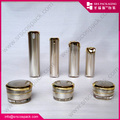 wholesale luxury golden round empty cosmetic container
