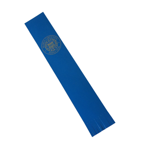 Custom Logo PU Leather Bookmark with Tassels for Wholesale