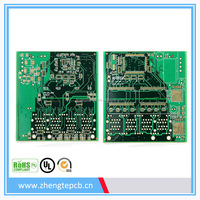 quality Street led pcb fr4 material,1 oz copper thickness double sided pcb