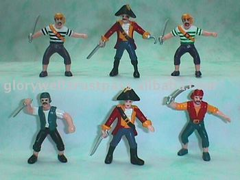 Glory Well 2826 Pirate Plastic Toy