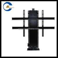 Flat screen TV lift Mechanism black LCD metal bracket