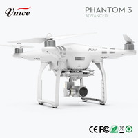 Dji Phantom 3 advanced phone drone with 2.7k full Camera alloy series rc helicopter