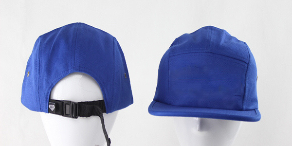 New Design Fashion Plain Blank 5 Panel Camp Cap