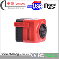 360 bird view camera system 1024 28FPS H264 Interface TF Micro USB action camera